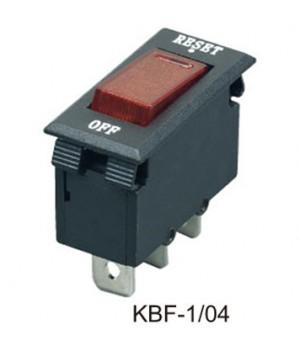 KBF-1/03 (ST-001L) 15A Предохранитель клавишный