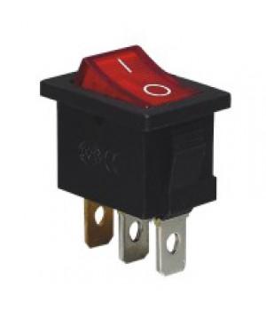 Переключатель SC-768, 3с, неон, красный А