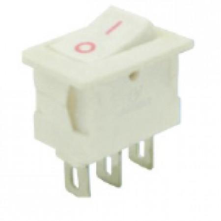 Переключатель KCD1-101/2P белый