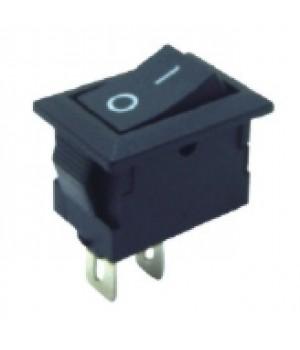 Переключатель KCD1-101/2P черный