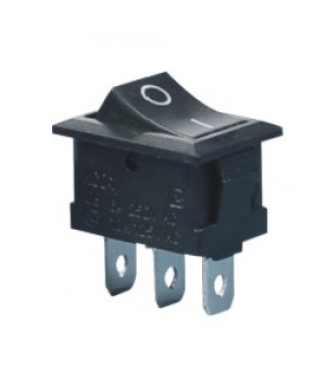 Переключатель KCD1-101/3P черный