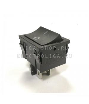 Переключатель KCD2-501/4Р черный