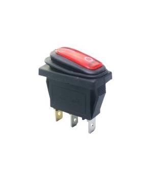 Переключатель KCD3-101/3PNW Красный