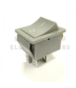 Переключатель KCD4-101/4P серый