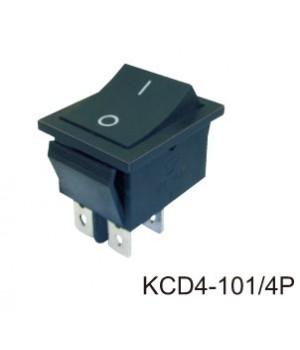 Переключатель KCD4-101/4P черный