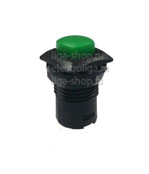 Кнопка DS-226 Зеленый (R-14 с фиксацией)