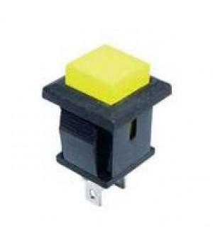 Кнопка DS-430, желтая без фиксации