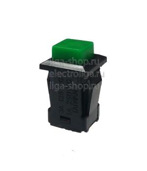 Кнопка DS-429, зеленая, фиксация