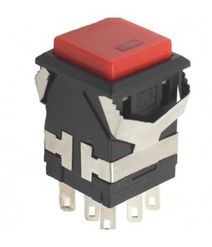 Кнопка KD2-21 Красный с фиксацией