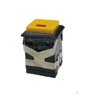 Кнопка KD2-21 Желтый с фиксацией