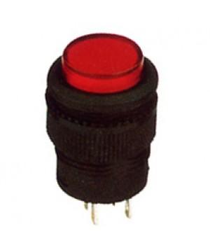 Кнопка R16-503/AD красный с фиксацией