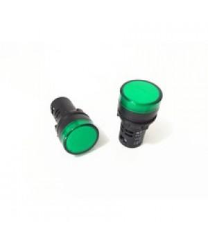 Лампа диодная AD-16-22, зеленая