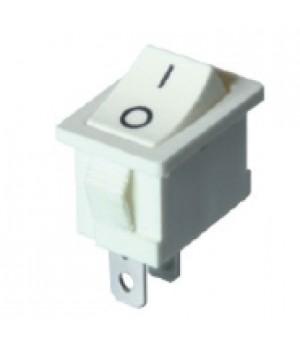 Переключатель KCD1-106/2P белый